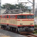 E31+E32 「南入曽車両基地 電車夏まつり」開催に伴う送り込み回送(2006.08.25)