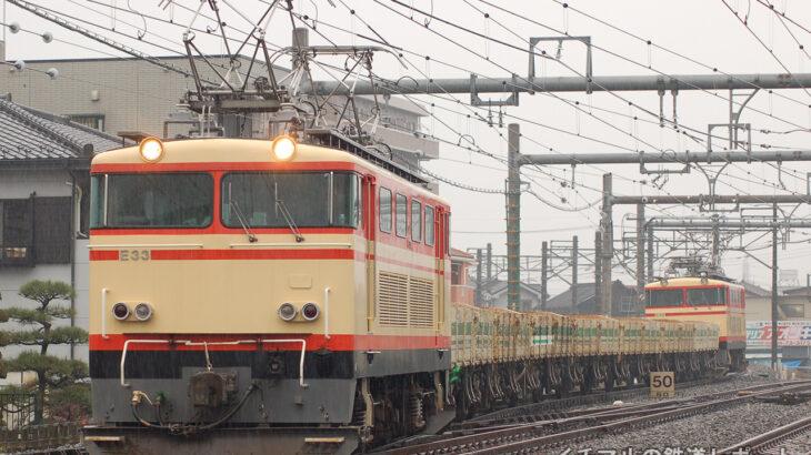 トム7両の車両交換回送を運転(2006.12.26)