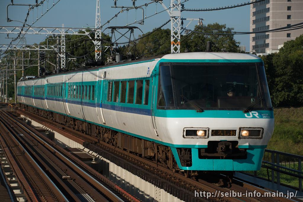 381系「くろしお」パノラマカー