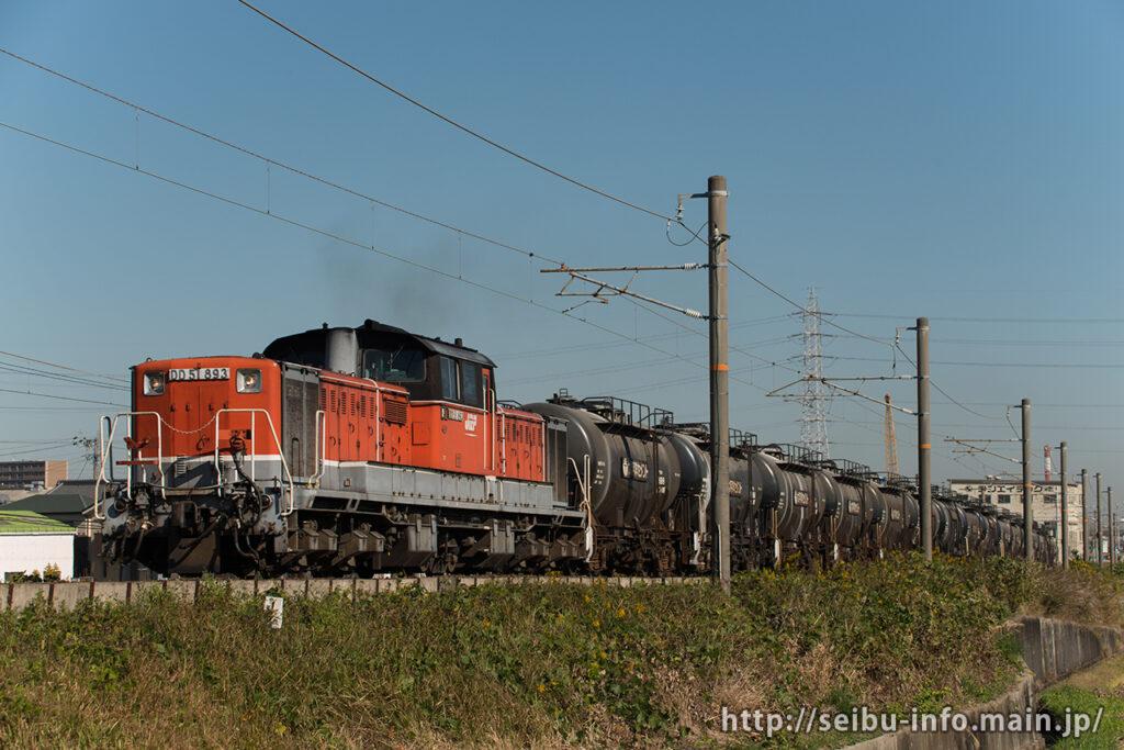 第5363列車 DD51-893