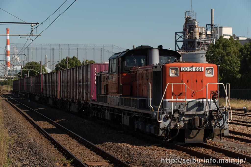 第8081列車 DD51-891