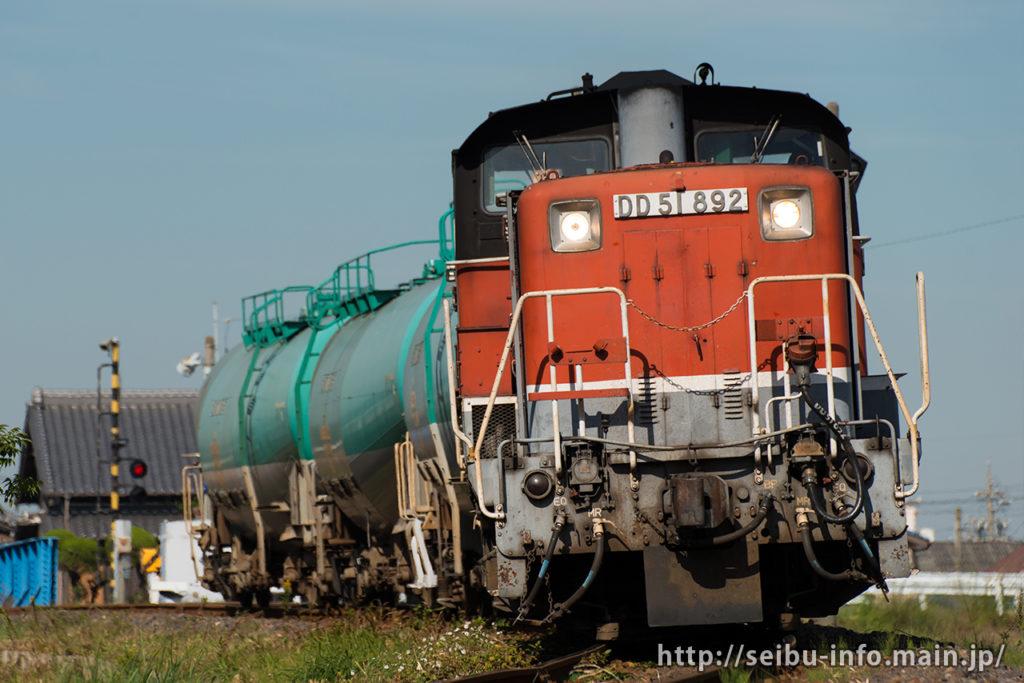 第183列車 DD51-892