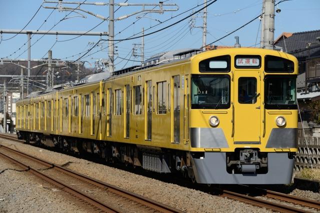 20150219-2000系2505F-武蔵丘出場試運転