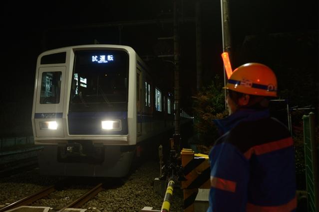 20150228-6000系6156F-武蔵丘出場試運転4