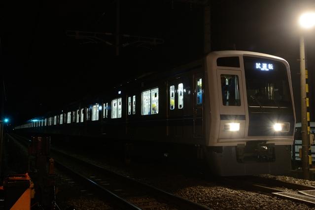 20150228-6000系6156F-武蔵丘出場試運転5