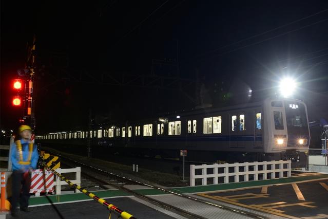 20150228-6000系6156F-武蔵丘出場試運転2