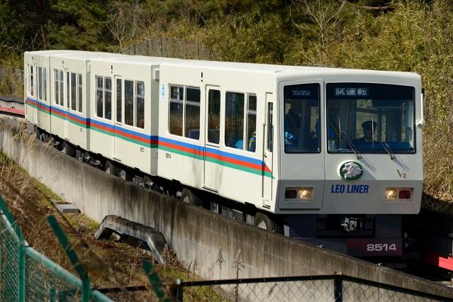 20150227-西武8500系-レオライナー-8511F-試運転1