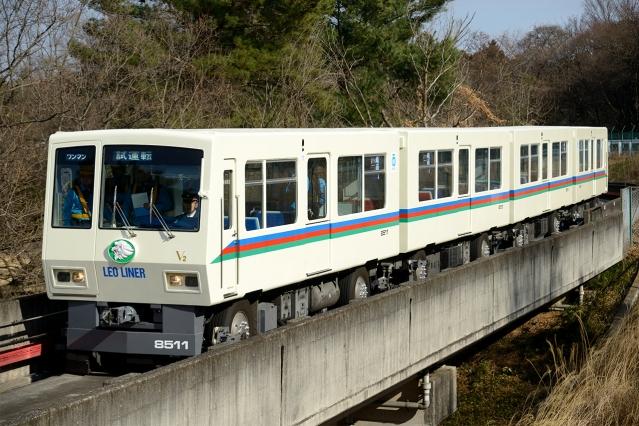 20150227-西武8500系-レオライナー-8511F-試運転5