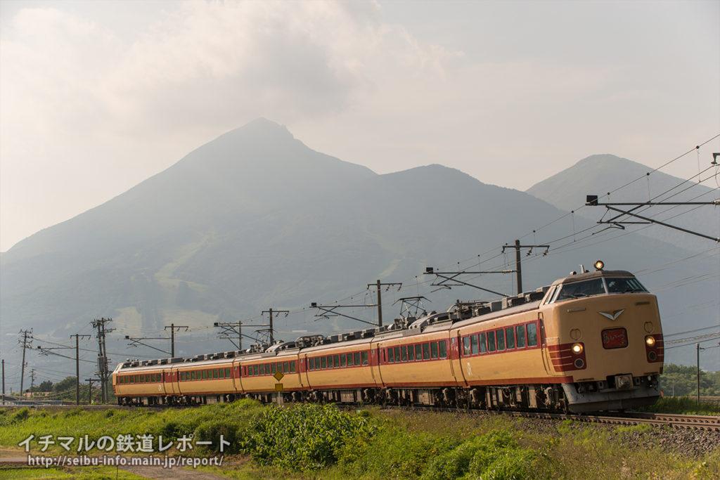 6月18日 特急「あいづ」 撮影地:猪苗代~川桁