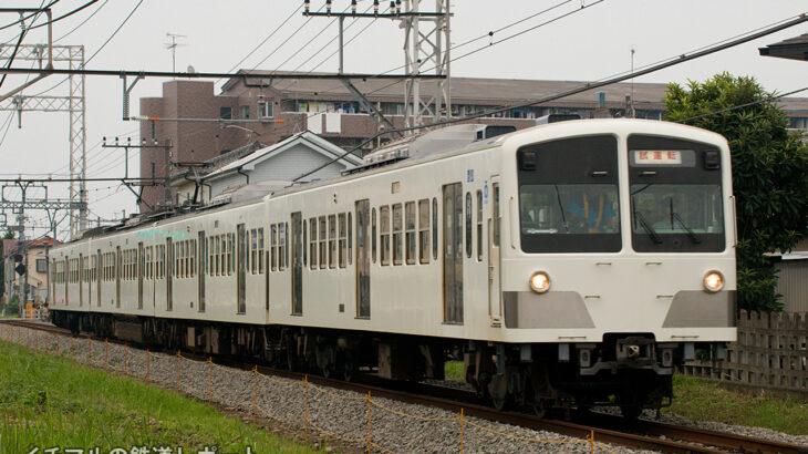 西武多摩湖線のり面崩壊により脱線した新101系1261Fが拝島線で試運転を実施
