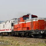 JR八高線 高崎~高麗川でDD51牽引によるマヤ検測を実施