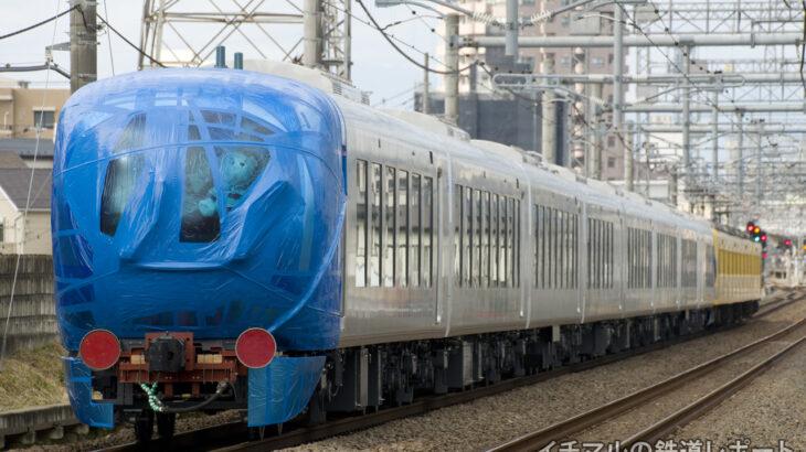 """西武鉄道の新型特急「001系 """"Laview(ラビュー)""""」の甲種輸送を実施!第一編成が小手指に到着"""
