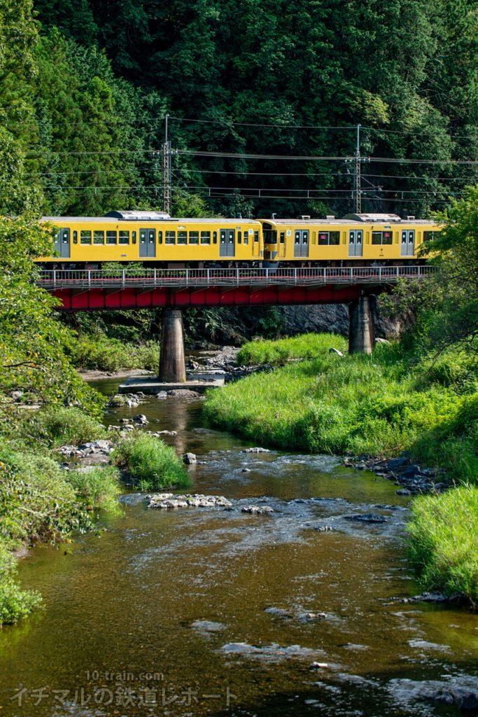 新101系263F+9000系9102F(4両):横瀬から武蔵丘へ回送