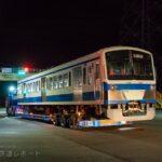 新101系1261F「クハ1262号車」陸送で横瀬車両基地から西武ドーム(メットライフドーム・トレイン広場)へ
