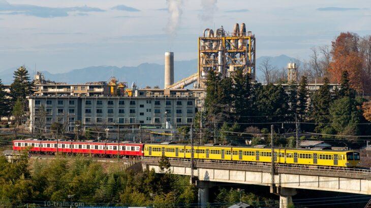 9000系9103F(京急塗装・レッドラッキートレイン)が4両編成に組み替え 廃車回送&新101系263F牽引で武蔵丘へ