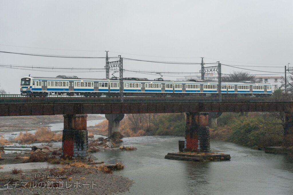 伊豆箱根鉄道と同じ塗装が施された新101系1241F