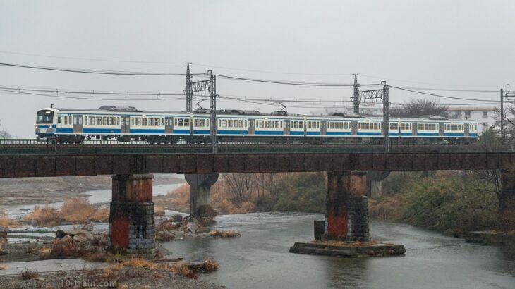 新101系1241F(伊豆箱根鉄道カラー)が武蔵丘車両検修場へ入場
