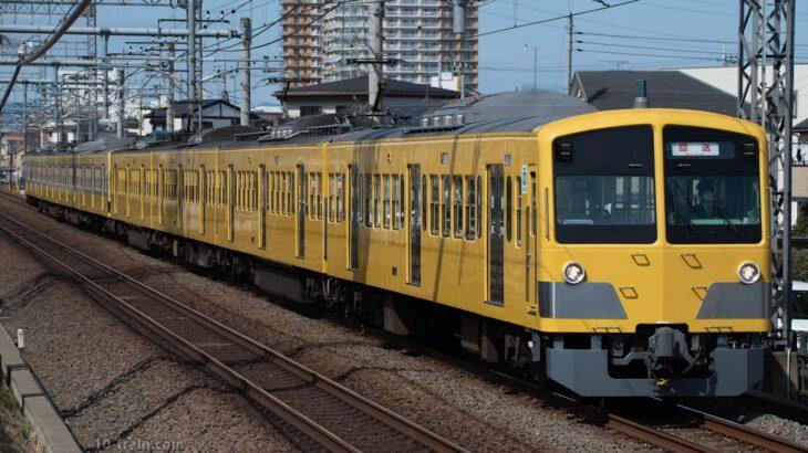 再施行!再び日中回送、新101系1245F(ツートン塗装)多摩川線車両交換に伴う甲種輸送