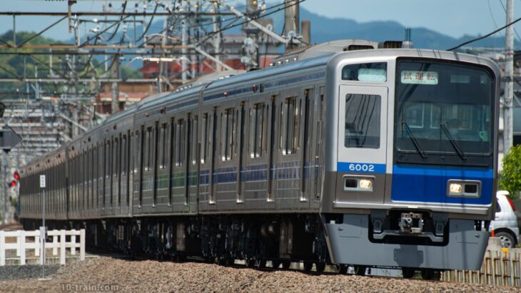6000系6102F 武蔵丘出場試運転、小手指車両基地へ入庫